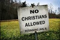 No Christians Allowed